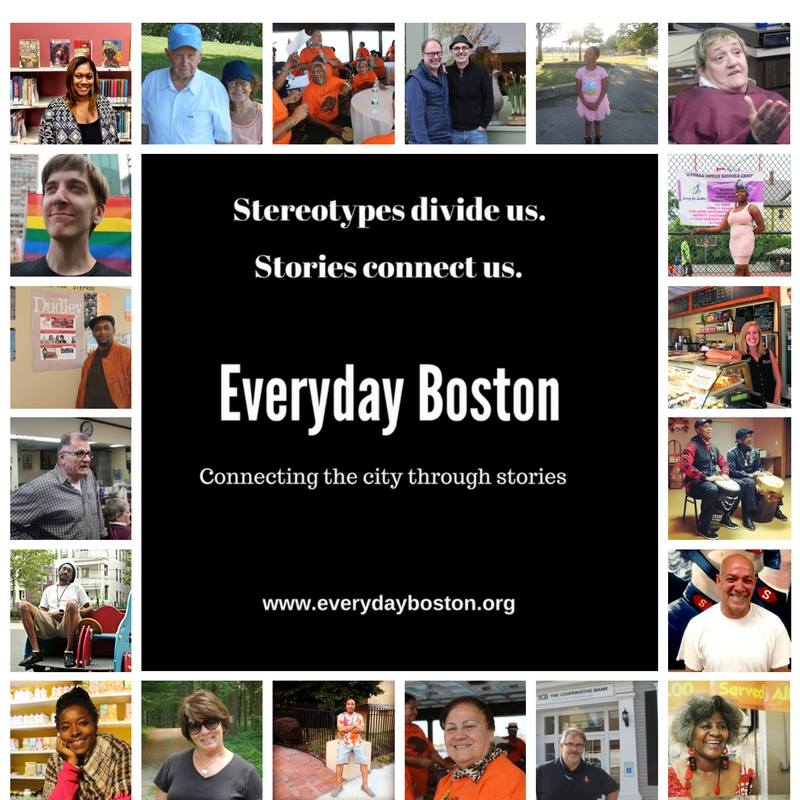 A social media graphic Everyday Boston is using to raise its profile.